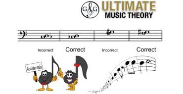 Harmonic Intervals using Accidentals