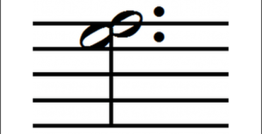 Dotted Notes – Harmonic Second Interval