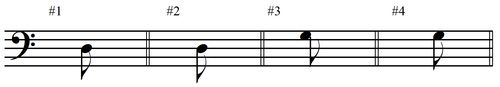 Eighth Note Flags