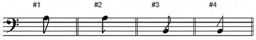 Add Flags Page Plus on Eighth Notes
