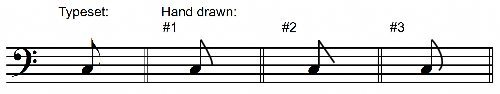 Correct Written Single Flags on Eighth Notes