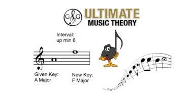 Transpose Music Theory – Major or Minor
