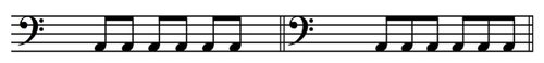 Time Signature - example