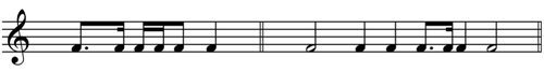 Time Signature - notes