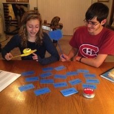 Flashcards and Flyswatters