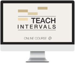 Teach Intervals Course - Online