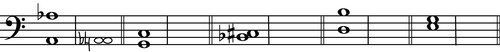 Harmonic Augmented First Answer from Intermediate Rudiments Page 78