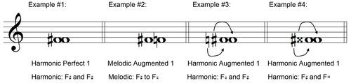 Four Examples of Harmonic Augmented Firsts - UltimateMusicTheory.com