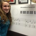 Improvising with Triads - Madeline's First Composition