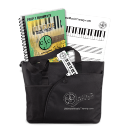 Ultimate Music Theory Prep 1 Student Pack