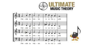 Modern Vocal Score Bar Lines