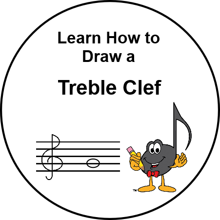Learn How to Draw a Treble Clef - UltimateMusicTheory.com