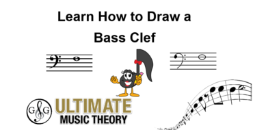 Learn How to Draw a Bass Clef