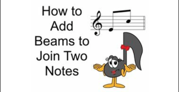 Add Beams To Join 2 Notes