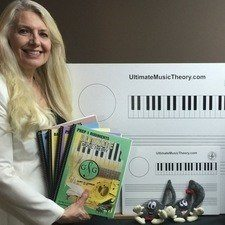 Glory St Germain Ultimate Music Theory Author