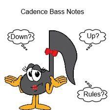 Cadence Bass notes