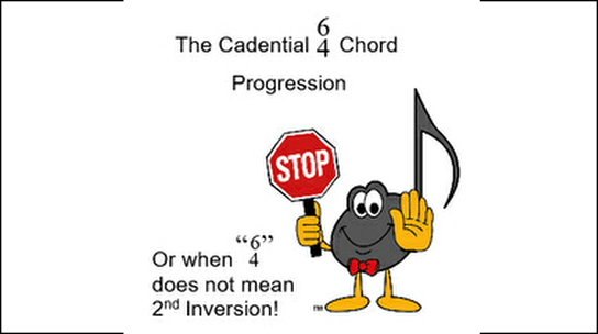 Cadential 6 4 Chord Progression Ultimate Music Theory