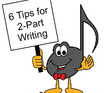 6 Tips for Two Part Writing