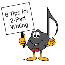 Ultimate Music Theory - Two Part Writing - Blog Title