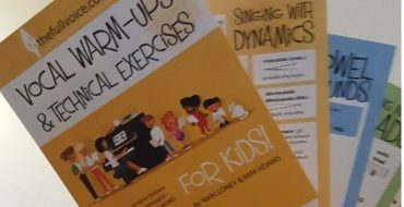 Vocal Warm Ups and Technical Exercises for Kids