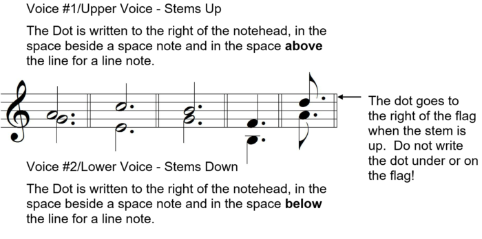 Ultimate Music Theory Two Part Writing - Dotted notes