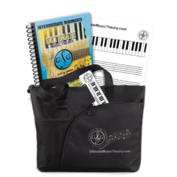 Ultimate Music Theory Intermediate Student Pack