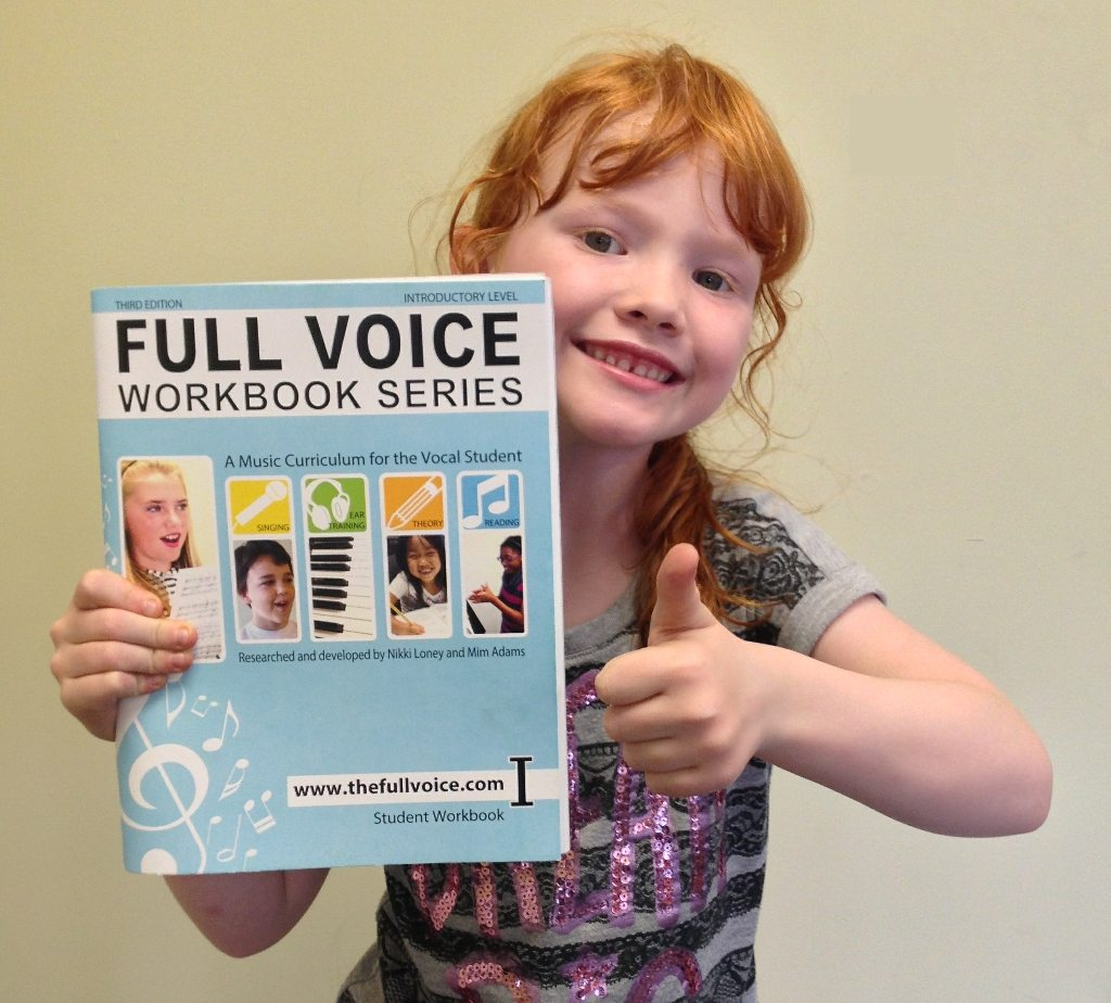 Kids give FULL VOICE a thumbs up