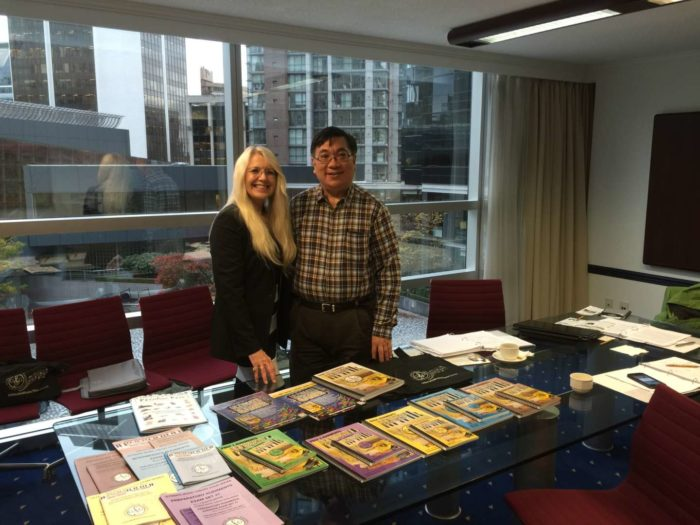 Anthony Tam and Glory St. Germain - Meeting in Vancouver