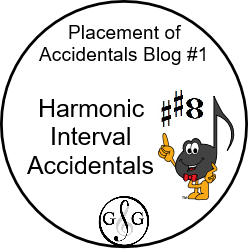 Harmonic Interval Accidentals Blog