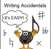 Writing Accidentals