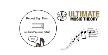 Repeat Sign Dots