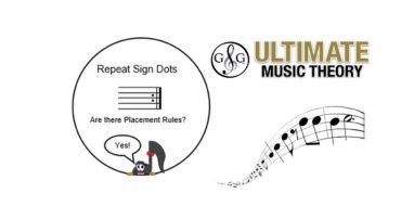 Repeat Sign Dots
