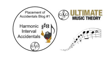 Placement of Accidentals Blog 1 of 3 – Harmonic Interval Accidentals