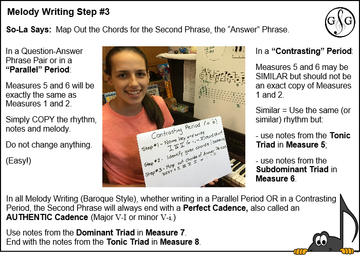 UMT Melody Writing in 5 Steps - Step 3
