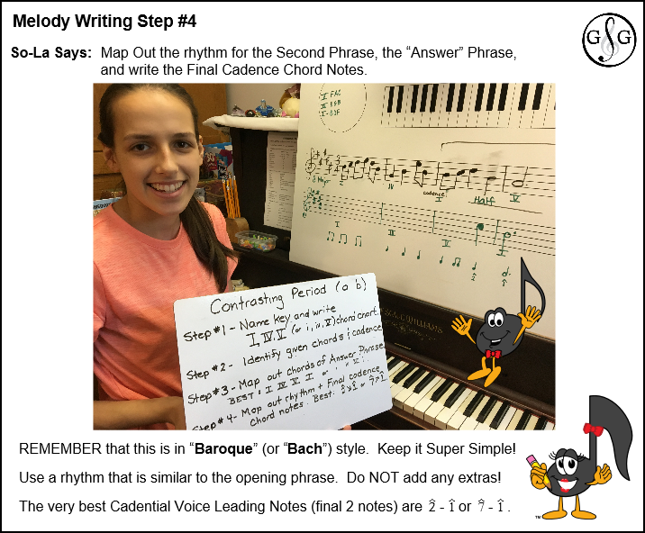 Melody Writing in 5 Step - Step 4