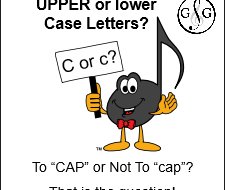 Upper or Lower Case Letter