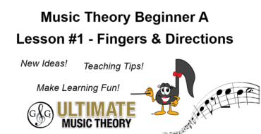 Music Theory Beginner A – Lesson 1