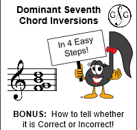 Dominant Seventh Chord Inversions