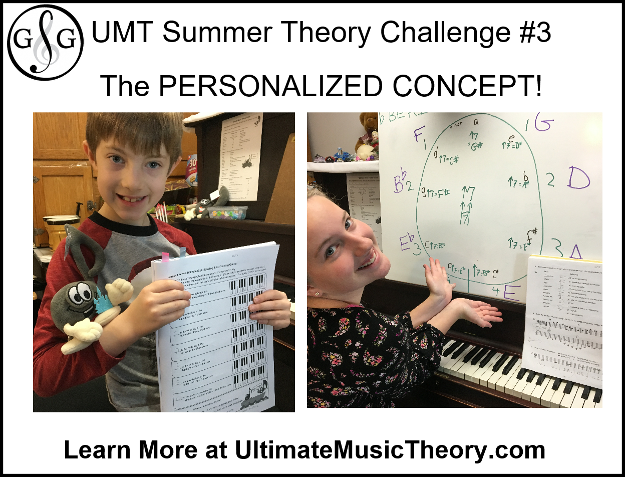 Ultimate Music Theory Summer Theory Challenge 3