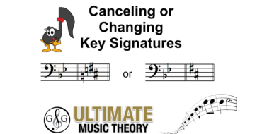 Changing Key Signatures
