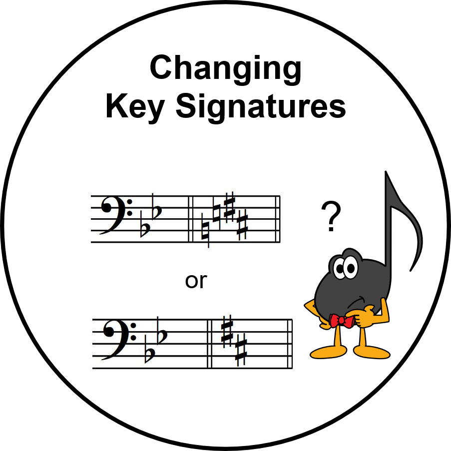 Ultimate Music Theory Changing Key Signatures