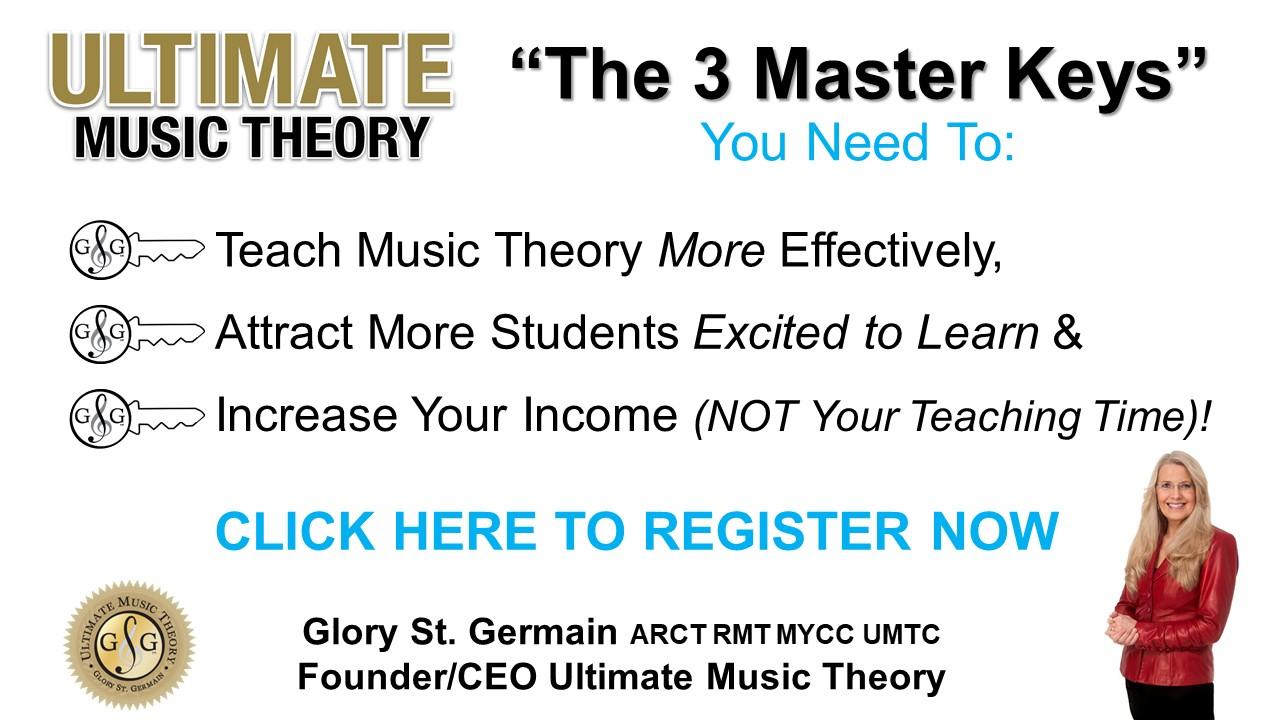 Ultimate Music Theory 3 Master Keys Webinar