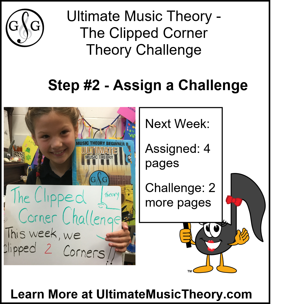 Ultimate Music Theory Clipped Corner Theory Challenge