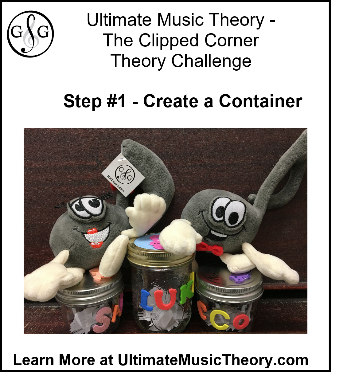 Ultimate Music Theory The Clipped Corner Challenge Container