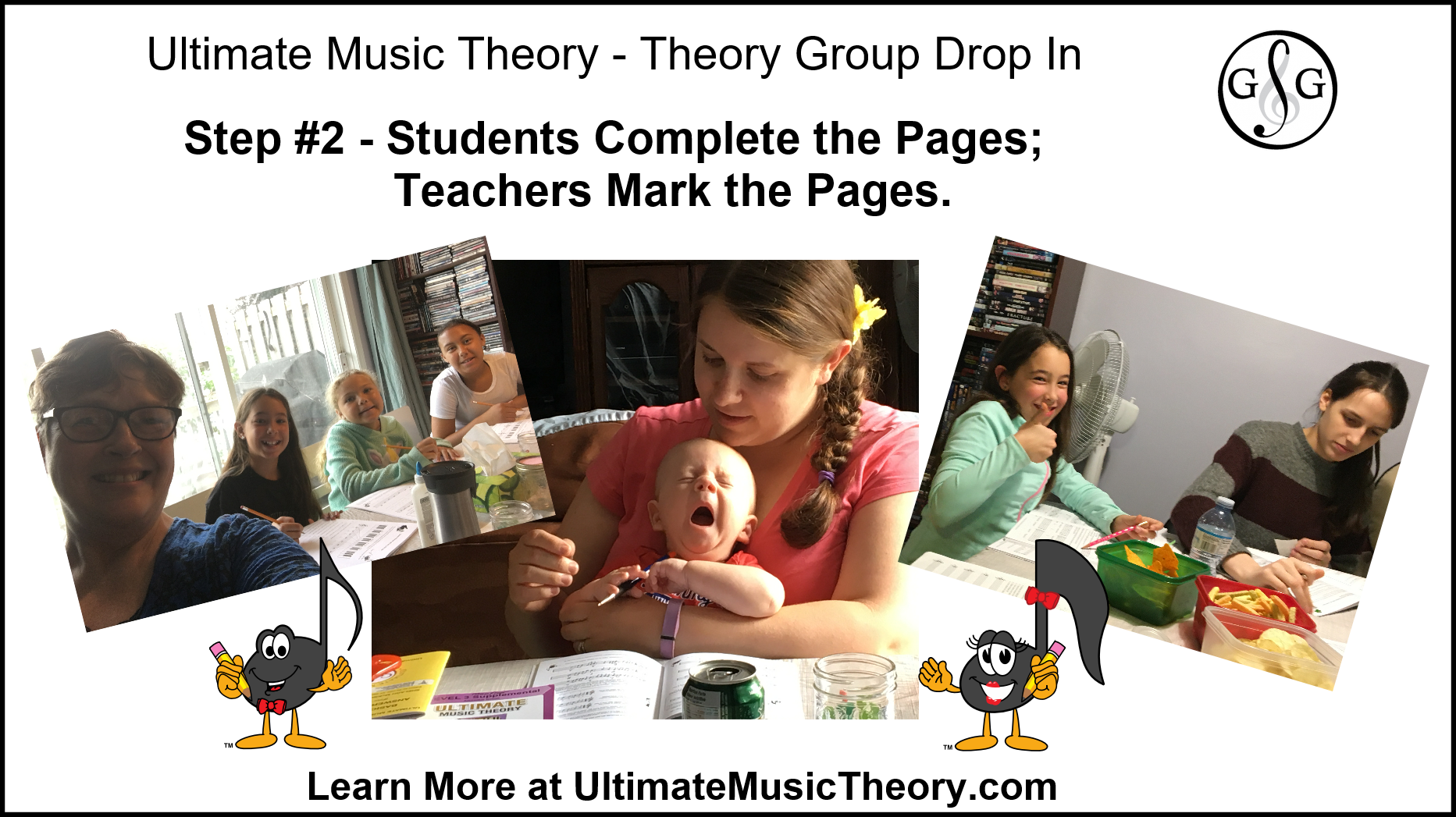 Ultimate Music Theory Group Drop In Step 2