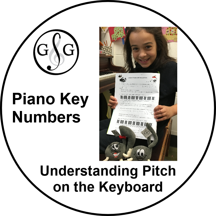 Ultimate Music Theory Piano Key Numbers