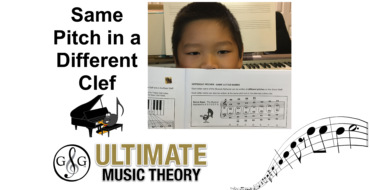 Same Pitch – Different Clef