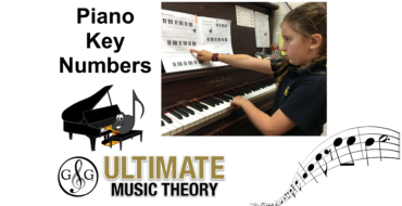 Piano Key Numbers