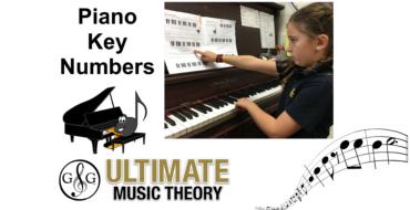 Piano Key Numbers