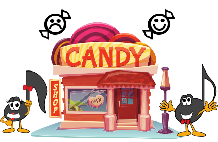 1 Candy Store Pentascales
